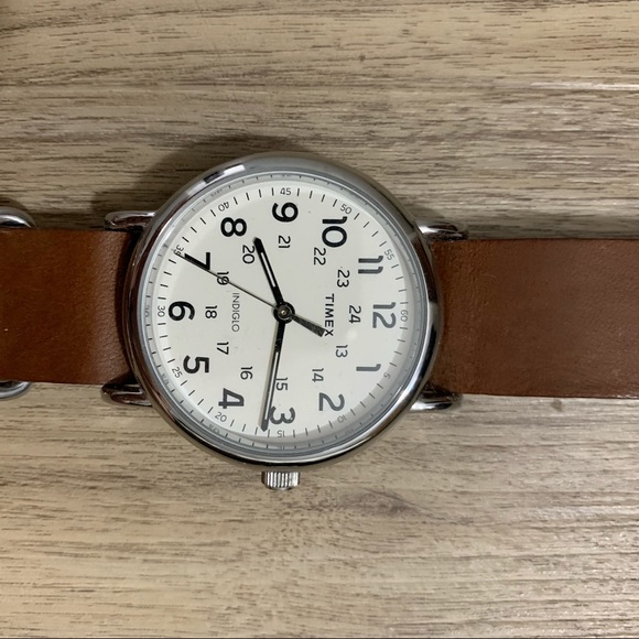 Timex Other - Timex Brown Leather Weekender